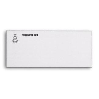 Kappa Sigma Crest - Black and White Envelope