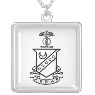 Kappa Sigma Crest - Black and White Pendant