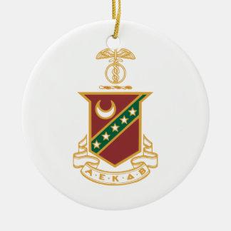 Kappa Sigma Crest Ceramic Ornament