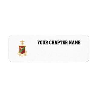 Kappa Sigma Crest Label