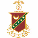 "Kappa Sigma Crest Statuette<br><div class=""desc"">Check out these official Kappa Sigma designs! Personalize your own Greek merchandise on Zazzle.com! Click the Customize button to insert your own name, class year, or club to make a unique product. Try adding text using various fonts & view a preview of your design! Zazzle"