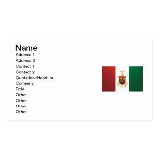Kappa Sigma Flag Business Card