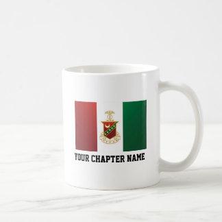Kappa Sigma Flag Classic White Coffee Mug