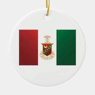 Kappa Sigma Flag Ornaments