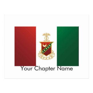 Kappa Sigma Flag Postcard