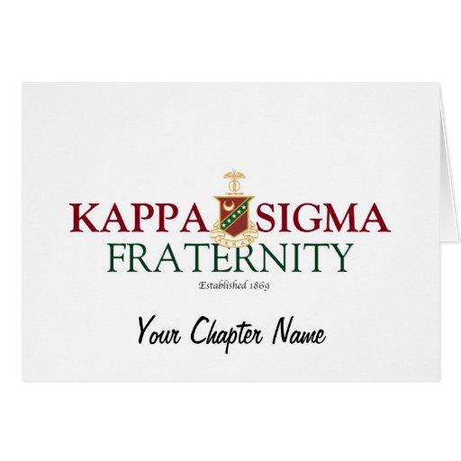 Kappa Sigma Greeting Card