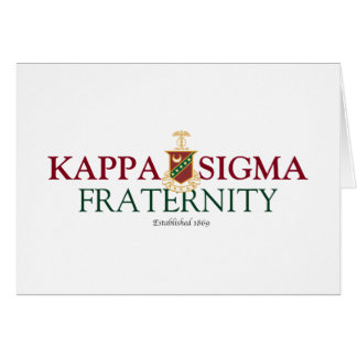 Kappa Sigma Greeting Cards