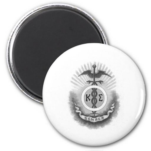 Kappa Sigma - Old Style 2 Inch Round Magnet