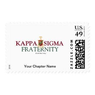 Kappa Sigma Postage Stamp