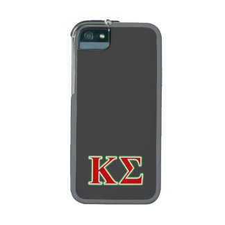 Kappa Sigma Red and Green Letters iPhone 5 Case