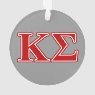 Kappa Sigma Red Letters