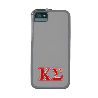 Kappa Sigma Red Letters Cover For iPhone 5/5S
