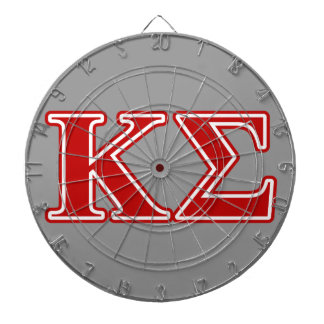 Kappa Sigma Red Letters Dart Boards