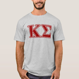 Kappa Sigma Red Letters T-Shirt