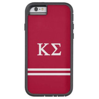 Kappa Sigma | Sport Stripe Tough Xtreme iPhone 6 Case