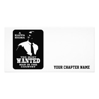 Kappa Sigma - The Most Wanted Card