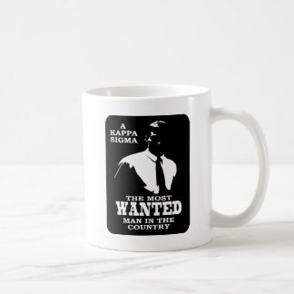 Kappa Sigma - The Most Wanted Coffee Mug