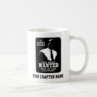 Kappa Sigma - The Most Wanted Coffee Mug
