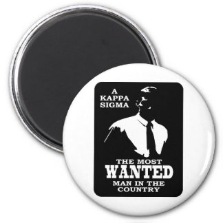 Kappa Sigma - The Most Wanted Magnet