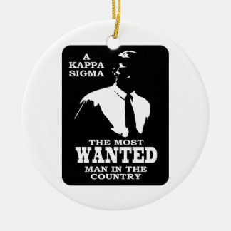 Kappa Sigma - The Most Wanted Ornaments