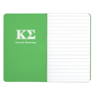 Kappa Sigma White and Green Letters Journal