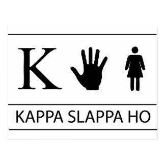 Kappa Slappa Ho Post Cards