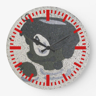 Kappabashi Reloj Redondo Grande