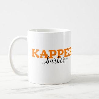 Kapper/vocabulario holandés de la palabra del taza