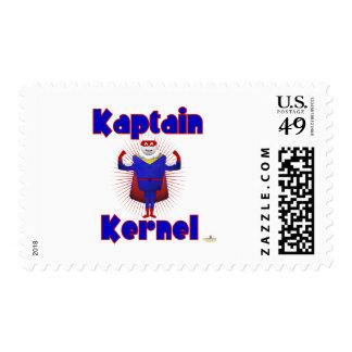 Kaptain Kernel Popcorn Superhero Postage