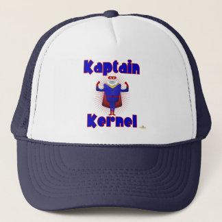 Kaptain Kernel Popcorn Superhero Trucker Hat