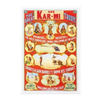 Kar-MI y los grandes autores de la compañía de Impresiones En Lona