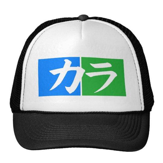 Kara カラ Katakana Word Hat