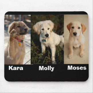 Kara wave, Moses, molly younger, Moses, Molly, ... Mouse Pad