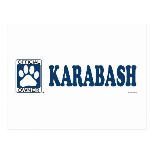 Karabash Blue Postcard