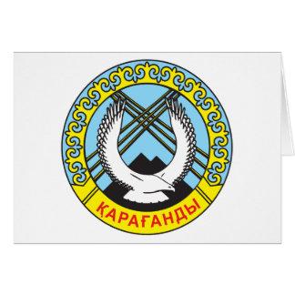 Karaganda Coat of Arms Greeting Cards