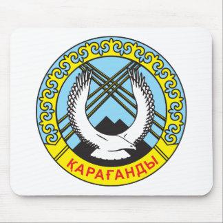 Karaganda Coat of Arms Mouse Pad
