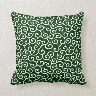 KARAKUSA MOYO Arabesque Throw Pillow