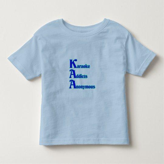 Karaoke Addicts Anonymous Toddler T-shirt