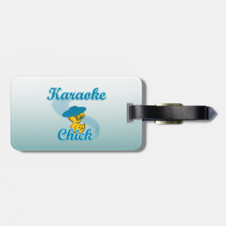 Karaoke Chick #3 Tags For Luggage