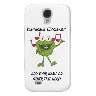 Karaoke Croaker Galaxy S4 Cover