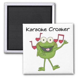 Karaoke Croaker Magnet