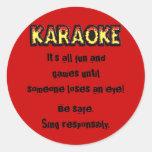 Karaoke Danger - Sticker