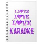 Karaoke del amor del amor libro de apuntes
