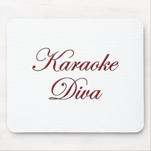 Karaoke Diva Mouse Pad