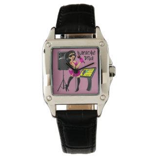 Karaoke Diva Wrist Watch