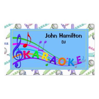 Karaoke DJ Business Card