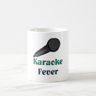 Karaoke - fiebre taza básica blanca