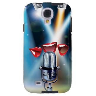 Karaoke Funny Samsung Galaxy S4 Case