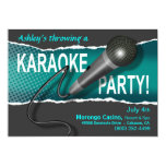 Karaoke Girls' Night Out Party Night 5x7 Paper Invitation Card
