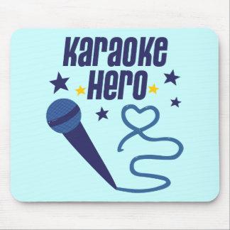 Karaoke Hero Mouse Pad